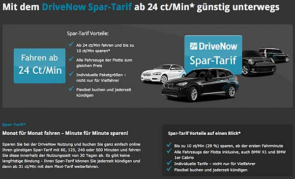 drive now spartarif