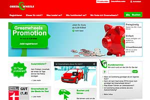 greenwheels website